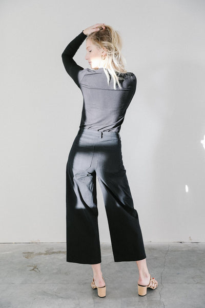 Loup Simone Denim Pants in Black