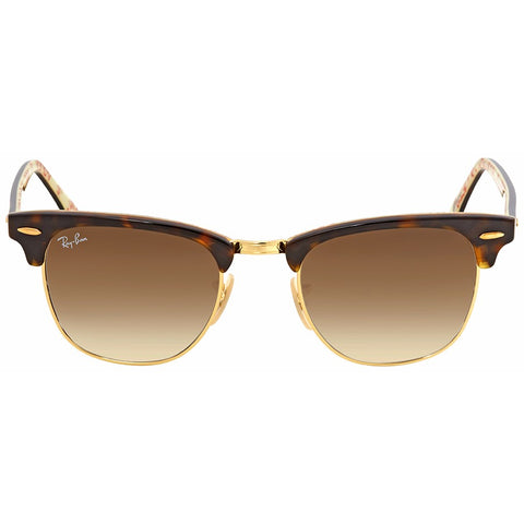 Ray Ban Clubmaster Gold Metal Havana