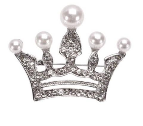 Crown Me Brooch