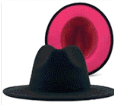 Two Tone Fedora Hat