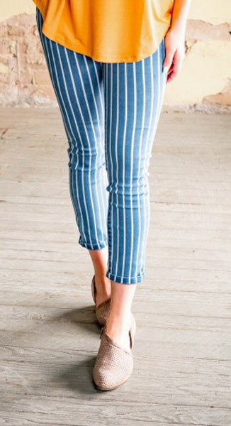 Pin Striped Jegging
