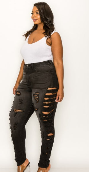 Darcie Distressed Jeans