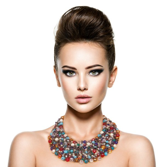 Beaded Bib Necklace