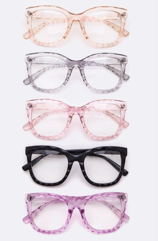 Sugaz Clear Glasses