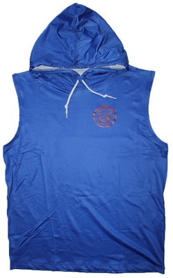 DOMMO AZURE Sleeveless Dry Fit Hoodie - Dommo Sportswear