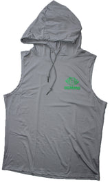 DOMMO INVINCIBLE Sleeveless Dry Fit Hoodie - Dommo Sportswear