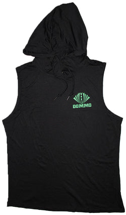 DOMMO SHADOWLIGHT Sleeveless Dry Fit Hoodie - Dommo Sportswear