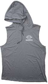 DOMMO ZONE Sleeveless Dry Fit Hoodie - Dommo Sportswear