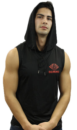 DOMMO ELUSIVE Sleeveless Dry Fit Hoodie - Dommo Sportswear