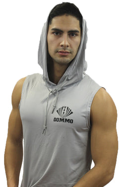DOMMO FIERCE Sleeveless Dry Fit Hoodie - Dommo Sportswear