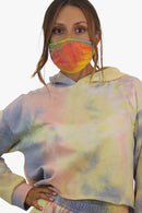 Tie-Dye Cotton Mask