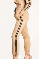 Tina Two Stripe Jogger Pants