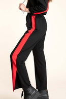 Rosie Red Stripe Track Pants