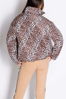 Cheetah Puffer Jacket