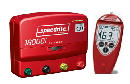 Speedrite 18000i Electric Fence Charger Remote Control