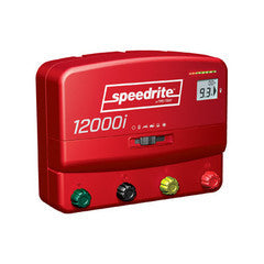 SPEEDRITE 12000i + REMOTE DUAL POWERED 110V/12V ENERGIZER | 12 JOULE | FREE U.S.A. SHIPPING AND FENCE TESTER - Speedritechargers.com