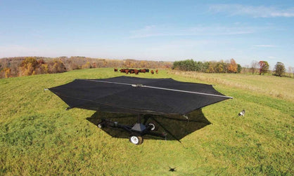 Shade Haven SH600 Portable Grazing Shade Structure | Request a Quote - Speedritechargers.com