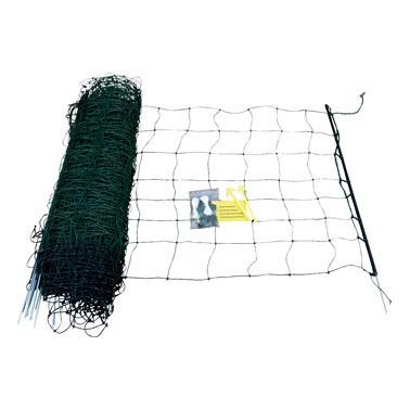 "1 Roll 32""X165' Green Sheep & Goat Net + Ground Rod - Speedritechargers.com"