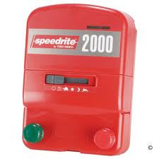 CASE OF 5 SPEEDRITE 2000 DUAL POWERED 110V/12V ENERGIZERS | 2 JOULE | FREE U.S.A. SHIPPING AND FENCE TESTER - Speedritechargers.com
