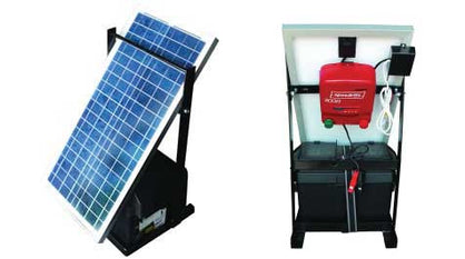 SPEEDRITE 3000 PORTABLE SOLAR POWERED ENERGIZER SYSTEM | 3 JOULE | FREE U.S.A. SHIPPING AND FENCE TESTER - Speedritechargers.com