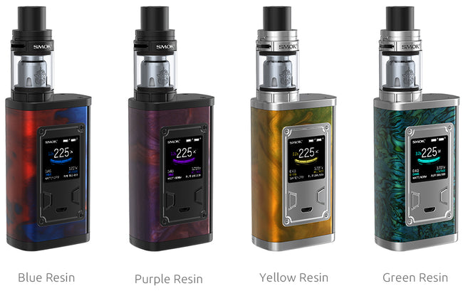 SMOK Majesty 225W TC and TFV8 X-Baby Full Kit