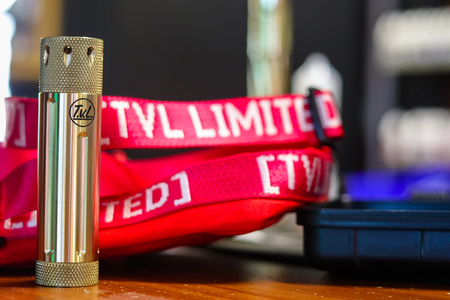TVL - Hi Five Rubiks  Mechanical Mod Brass