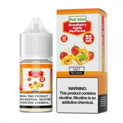 Pod Juice - Strawberry Apple Nectarine Salt 30ml 🍓🍎