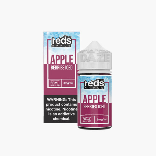 7 Daze Reds Berries Iced 60ml