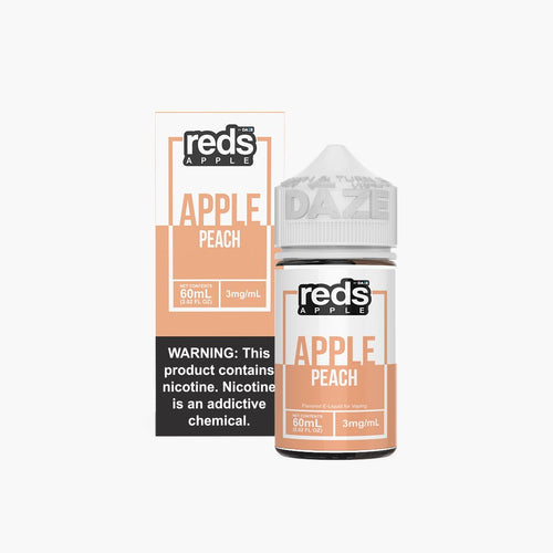 7 Daze Reds Peach 60ml