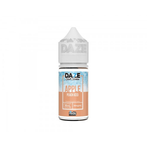 7-Daze Reds Peach Iced Salt 30ml