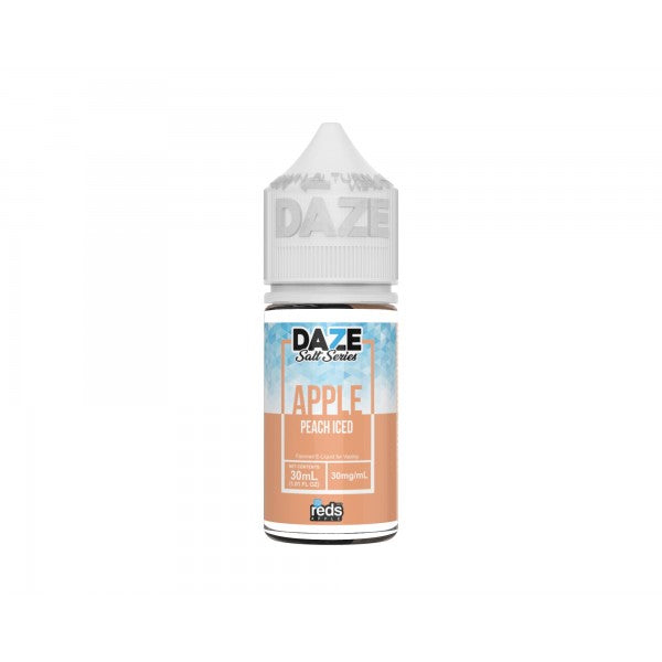 7-Daze Reds Apple - Peach Iced Salt 30ml 🍑❄️