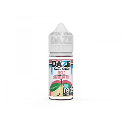 7 Daze Reds Strawberry Iced Salt 30ml