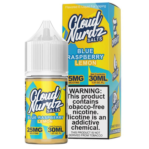 Cloud Nurdz - Blue Raspberry Lemon 30ml 🍋
