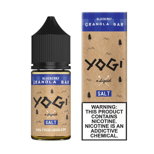 Yogi Salt Nic - Blueberry Granola Bar 30mL