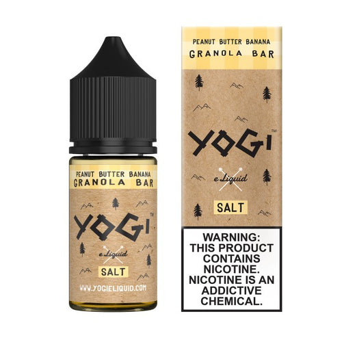 Yogi Salt Nic - Peanut Butter Banana Granola Bar 30mL