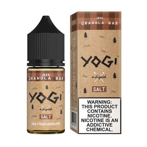 Yogi Salt Nic - Java Granola Bar 30mL
