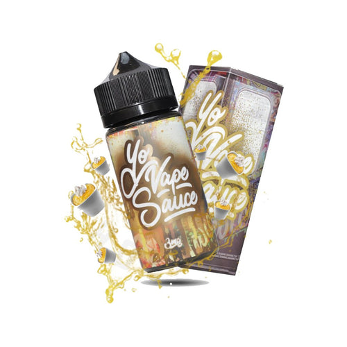 Yo Vape Sauce Custard E-liquid 100ml