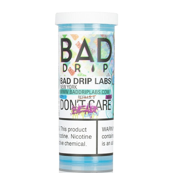 Bad Drip - Don't Care Bear Iced Out 60ml ❄️🍐🍑