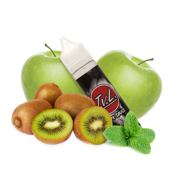 TVL VapeSauce - Sour Apple, Sweet Kiwi, and just a hint of Spearmint.