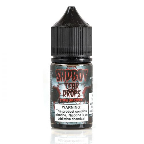 Sadboy - Teardrops Straw Jam Cookie Salt 30ml