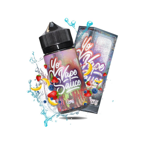 Yo Vape Sauce StrawBluNana E-liquid 100ml