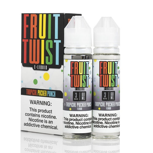Fruit Twist - Tropical Pucker Punch 120ml 🏝