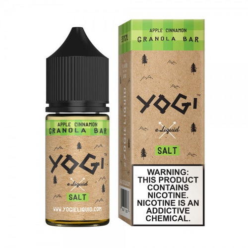 Yogi Salt Nic - Apple Cinnamon Granola Bar 30mL
