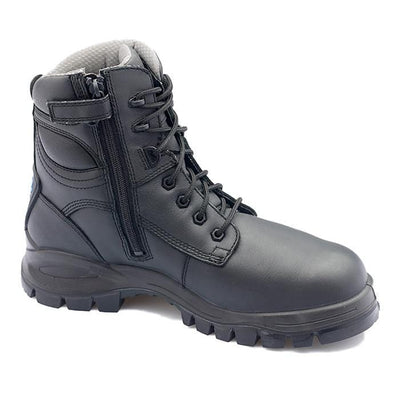 MENS BLACK WORKBOOT - 297