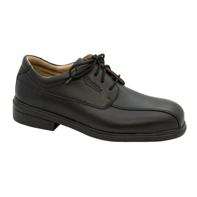FULL GRAIN LEATHER STEEL TOE - BLACK - 780