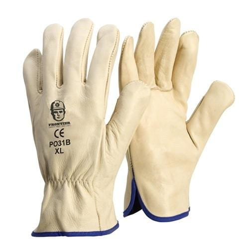 FRONTIER GLOVE LEATHER BEIGE RIGGER - P031B
