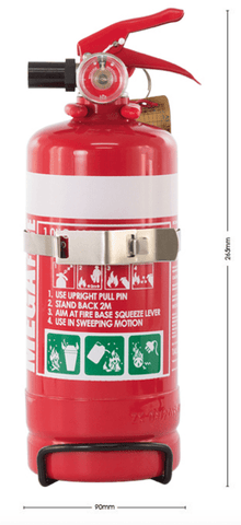 1.0KG FIRE EXTINGUISHER - ABE - MF1ABE