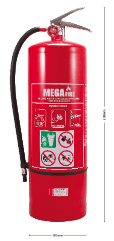 9.0L AIR/WATER EXTINGUISHER - MF9LAW