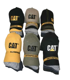CAP AND SOCK BUNDLE - CAT