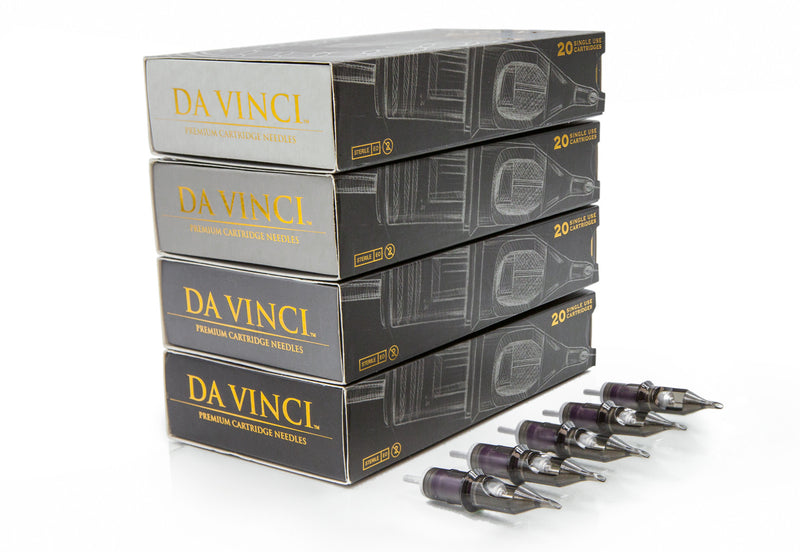 DA VINCI Cartridge Needles - Bugpin Curved Mags